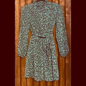 NWOT-Ann Taylor Loft/ Petite Tie Waist Dress